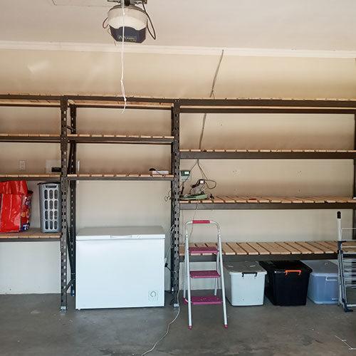 dura racking shelving work done