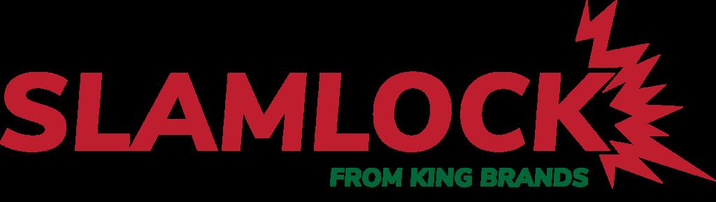 King brands king trellis slamlock security gate logo