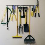 King Brands Dura Racking Storage hooks for hanging tools and garage organisation