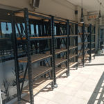 KingKing Brands Dura Racking Shop fitting custom shelves